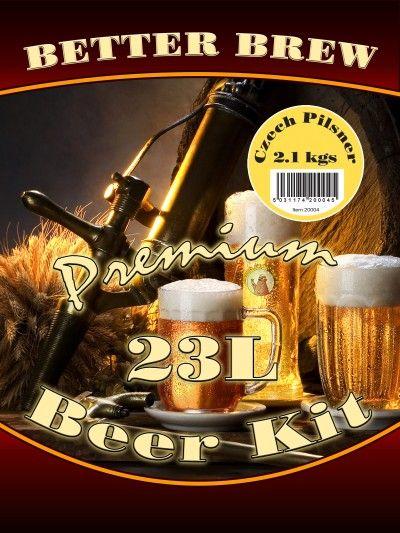 czech pilsner beer kit