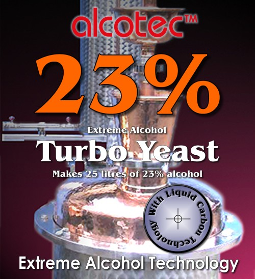 turbo yeast alcohol