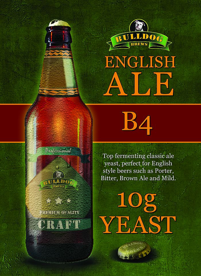 Bulldog English Ale Yeast